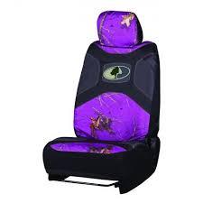 mossy oak purple low back seat cover
