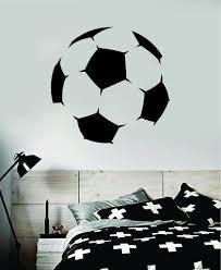 Soccer Ball Decal Sticker Wall Vinyl Art Home Decor Inspirational Spor Boop Decals