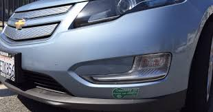 State Nears Carpool Lane Decal Limit For Volt Other Plug In Hybrids Los Angeles Times
