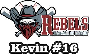Rebels Baseball Of Oregon Custom Car Decals Stickers Tagsports