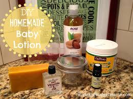 diy homemade baby lotion jessi fearon