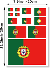 Amazon Com Jbcd Portugal Flags Vinyl Decal Portuguese Patriotic Flag Stickers Car Truck Window Decal Pride Decorations Bumper Sticker Uv Resistant Weatherproof For Parties Sport Events Celebrations Kitchen Dining