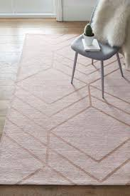 blush geo flat weave rug rugs woven