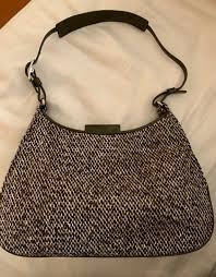 coach mini hobo purse in olive tweed