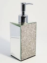 bella lux soap dispenser jeweled with