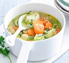 vegetable brown rice soup recipe
