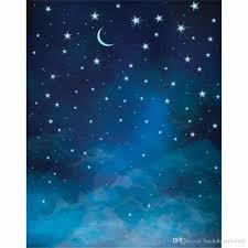 الهلال القمر الأزرق السماء ليلا الاطفال صور الخلفيات الفينيل بريق نجوم الأطفال التصوير خلفية الطفل الوليد التقطت الصور الدعائم 2020 من Backdropsfactory 61 69ر س موبايل Dhgate