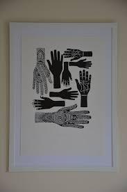 printmaking #protection #bertie #symbol #hands #smith #print #lino ...