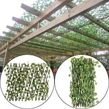 70cm Artificial Plants Decor Extension Garden Yard Artificial Ivy Leaf Fence Fake Leaves Branch Green Net For Home Wall Garden Artificial Plants Aliexpress