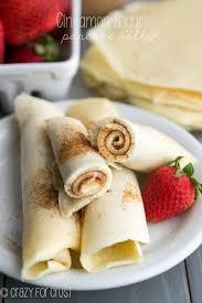 cinnamon sugar pancake rolls crazy