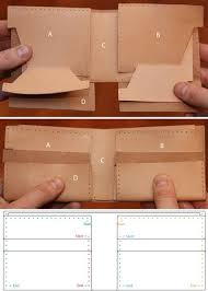 how to make a leather wallet by hand