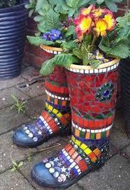 mosaic art flower pots blog