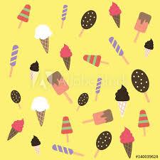 cute colorful ice cream wallpaper