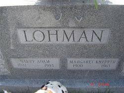 Margaret Knepper Lohman (1900-1963) - Find A Grave Memorial