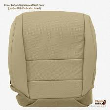driver bottom tan perforated leather