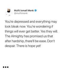 depression islamic motivational quotes
