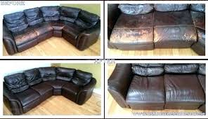 faux leather couch ling