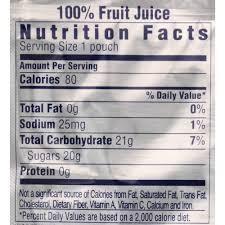 caprisun capri sun fruit punch 100