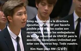 bts delivers inspiring speech to youth at united nations quotes