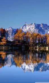 mont blanc autumn ultra hd desktop