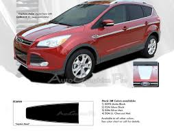 2013 2019 Ford Escape Hood Stripes Vinyl Graphics Capture 3m Pro Decals Ebay