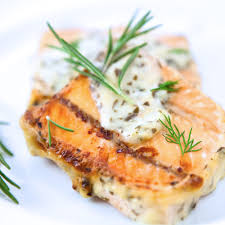 Baked Salmon with Mustard-Dill Sauce ...