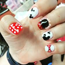 Disney mickey mouse gel color - Yelp
