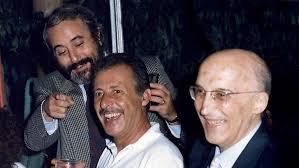 G. Falcone, P. Borsellino, A. Caponnetto - Associazione