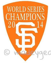 Car Window Vinyl Decal Sticker Sports 2014 World Series San Francisco Giants Vinyl Decal Stickers Window Vinyl Vinyl Decals
