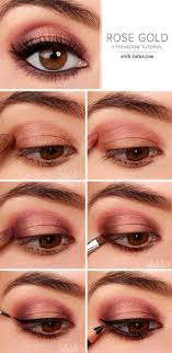 easy makeup tutorials for brown eyes