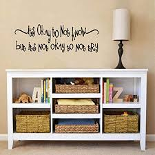 com wall sticker educational quotes wall decal decor its