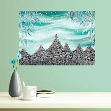 My Wonderful Walls Aurora And The Elk Mountains Wall Decal Wayfair
