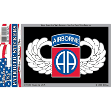 Shop Us Army 82nd Airborne Division Car Decal 3 By 4 Inches Overstock 17956655