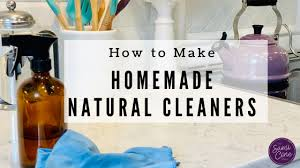 diy natural cleaning homemade cleaner