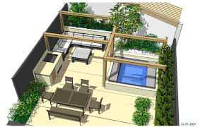 hot tub garden design north london