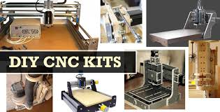 diy cnc mill and router kits