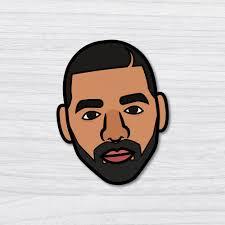 Drake Icon Sticker Decal Pop Culture Laptop Phone Car Skateboard Vinyl 0813bm Ebay