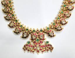 22k gold jewelry diamond ruby emerald