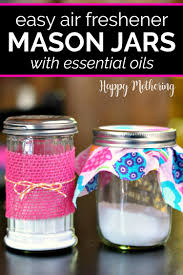 easy diy air freshener mason jars