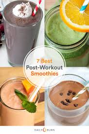 post workout smoothies for every exercise