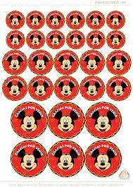 Mickey Mouse Tarjetas De Cumple Para Imprimir Cartel Feliz