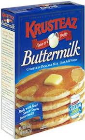 krusteaz ermilk pancake mix 16 oz