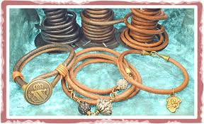 how to make leather cord bracelets