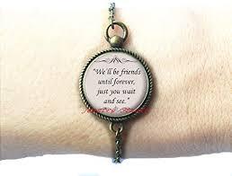 com charming fashion bracelet,quote bracelets friends
