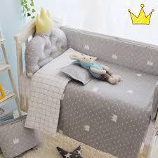 3pcs set crib bedding set 100 cotton