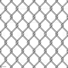 Chain Link Fence Background Stock Illustration Download Image Now Istock