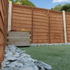 4ft X 6ft Pressure Treated Lap Garden Fence Panel Mercia Garden Products