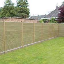 Eco Fencing Wood Grain Composite Gravel Boards 2438mm 8ft Deck Supermarket