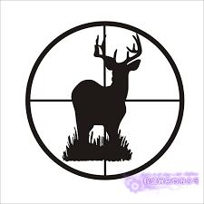 Hunt Sticker Car Hunting Shoot Buck Deer Decal Hunter Shop Posters Vinyl Wall Decals Decor Chase Mural Sticker Mural Sticker Vinyl Wall Decalsvinyl Wall Aliexpress