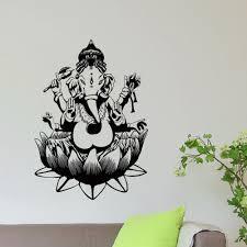 Shop Elephant Ganesha Vinyl Wall Art Decal Sticker Overstock 10597381